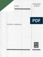 2776-91 Madera Aserrada