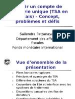 Sailendra yak TSA Presentation-Francais