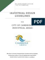 Industrial Design Guidelines