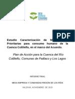 Estudio Caracterización de Microcuencas Prioritarias para consumo humano