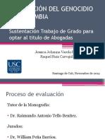 TIPIFICACIÓN DEL GENOCIDIO EN COLOMBIA.pptx