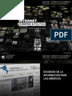 Gonierno Electronico y Politica 2.0 - Presentacion Parana - Lucas Lanza y Natalia Fidel