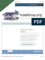 Non-Initiates Performing Arcana - The Hare Krishna Forum - IndiaDivine.org