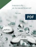 Andreas Brachel Introduction to P&I Part 1 - NIFS UIO 2009
