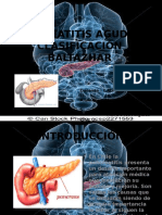 Ppt Pancreatitis Listo