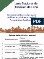Leña certificada