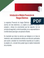 PPT Prevenció de Riesgos Eléctricos