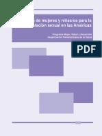 Trafficking Paper Spanish