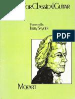 Mozart for Classical Guitar