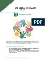 Banderas Negras Andalucía 2016