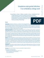 Ureaplasma Male Genital Infections in an Ambulatory Urology Ward
