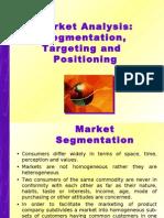 Market Analysis Segmentation, Targeting and Positioning