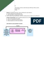 Project Management Handout