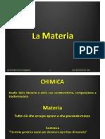 Lezione 02 - La Materia Ed Energia