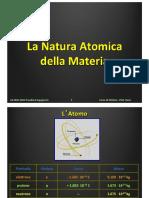 Lezione 03 - La Natura Atomica Della Materia