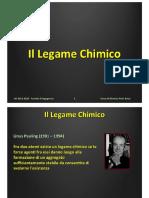 Lezione 06 - Legame Chimico I
