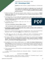 Simplificação HACCP - Metodologia CHAC