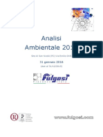 Analisi Ambientale