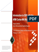 Introduction to DSP with the ARM Cortex-M4 Microcontroller - Feb 2012.pdf