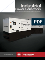 Industrial Power Brochure - Diesel Generator