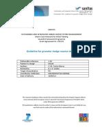 Deliverable-1.10 Guideline Design Granular Sludge Reactor