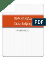 27366202 Aspek Keuangan Capital Budgeting