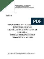 Riscuri specifice IPG
