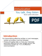 7 Cs of Effective Communication - New