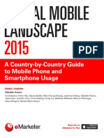 EMarketer Global Mobile Landscape 2015