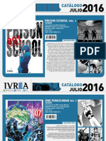 Proximas Novedes Ivrea - Julio 2016