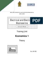 AS052 Economics 1