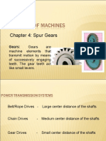 1 Chapter 4 Spur Gears Intro Classif Terminology Law of Gearing
