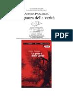 Andrea Pazzaglia - La Paura Della Verità (Ita Libro)