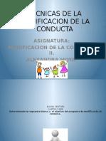 TECNICAS DE LA MODIFICACION DE LA CONDUCTA.pptx