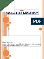 Facilities Location