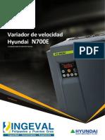 Catalogo Variadores de Velocidad Hyundai Ingeval