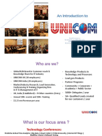 UNICOM Introduction
