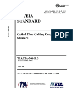 TIA-568-B.3-2000 , Optical Fiber Cabling Components Standard