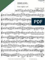 Molbe, Heinrich - Idillio for EH and Piano