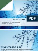 Inventario ABC