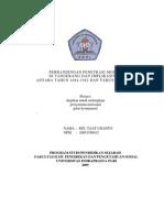 Perbandingan Penetrasi Modal Di Tangerang Dan Implikasinya Antara Tahun 1684-1942 Dan Tahun 1966-1998