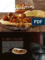Cauldron Street Food Recipe Book