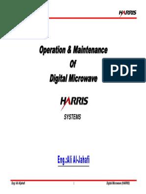 HARRIS MICROWAVE RADIO  pdf | Antenna (Radio) | Polarization