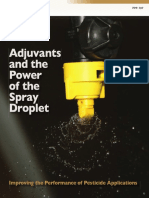 Adjuvants and the Power of the Spray Droplet