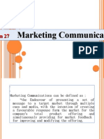 Session 27 Marketing Communication