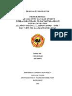 25530485 Proposal Kerja Praktek Di Pt Sis Zie