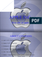Apple Company Report