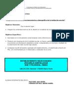 Diagnóstico Educativo Del Contexto Cultural y Socioeconómico