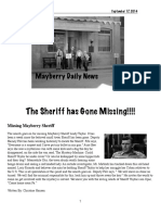 mayberry daily news