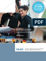 "Studying in Germany"" Brochures, Published by Daad"